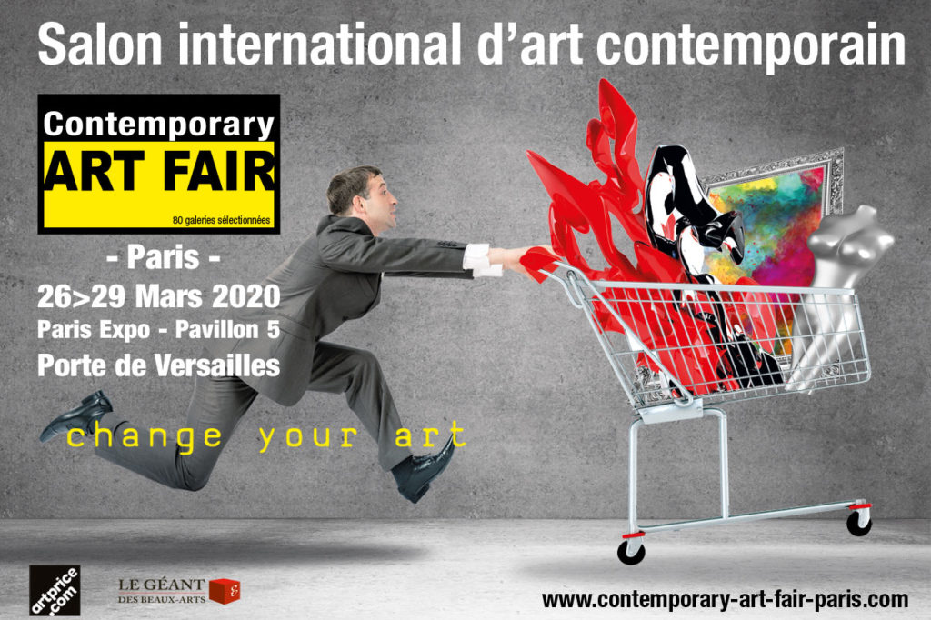 Contemporary ART FAIR Paris 2020